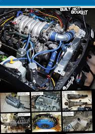 lexus v8 engine and gearbox plus four engineering in ppc plus four engineering ltd