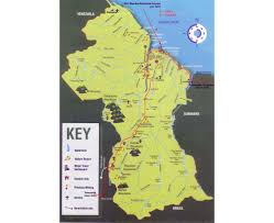 Guyana Map Maps Of Guyana Detailed Map Of Guyana In English Tourist Map