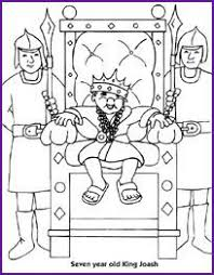 bible coloring pages king josiah cut the ropes of sin lesson