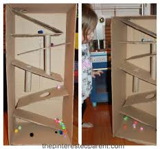 cardboard box marble run u2013 the pinterested parent