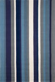 Modern Outdoor Rug by Newport Vertical Stripe Marine 166003 Rug From The Outdoor Rugs