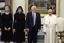 Pope Meme - pope francis meeting donald trump meme popsugar news