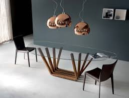 Bases For Glass Dining Room Tables Furniture Furniture Rectangular Glass Zyinga Minimalist Glass