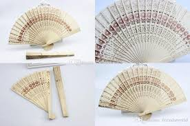 cheap wedding fans bridal wedding fans wooden fans bridal accessories