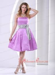 quince dama dresses lavender a line knee length dama dresses for quinceanera with