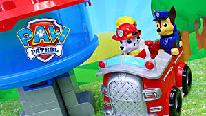 paw patrol duplo lego lookout marshall firetruck chase