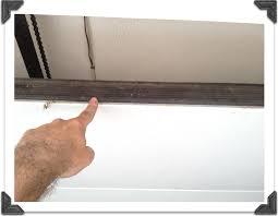 vertical shower door seals quick tip tuesday savvy garage door maintenance