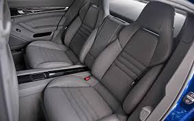 porsche panamera seats 2012 porsche panamera turbo s test motor trend