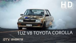 lexus v8 wagon otv shorts v8 toyota corolla burnout d1nz round 2 mt smart 2014
