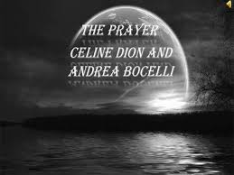 the prayer celine dion and andrea bocelli with lyrics