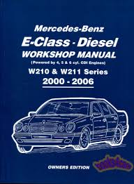 shop manual mercedes service repair book cdi w210 w211 u2022 31 31