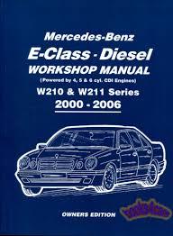 shop manual mercedes service repair book cdi w210 w211 u2022 31 31