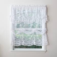Lace Curtains And Valances Allison Jacquard Lace Curtain Collection Boscov U0027s