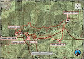 Bryce Canyon Map Pdf Hiking Terraces To Elbow Fork Millcreek Canyon Road Trip Ryan