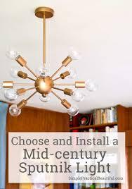 sputnik chandelier midcentury lighting a sputnik chandelier simple practical beautiful