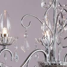 vara 3 light bathroom chandelier chrome from litecraft