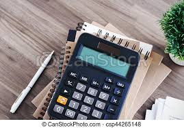 calculatrice bureau calculatrice bureau fond bureau bureau calculatrice photo