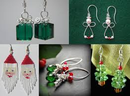 christmas earrings diy earrings for christmas fashion and accessories