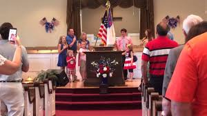 Awana Flag The Pledge Of Allegiance And To The Christian Flag Youtube