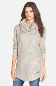 cowl sweater dreamers by debut cowl neck sweater nordstrom