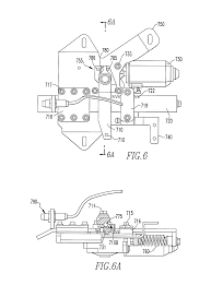 patent us8528961 electric swing plug door operator with