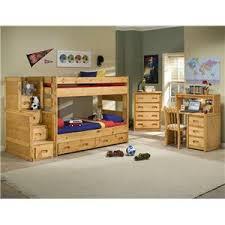 Trendwood Bunkhouse TwinFull High Sierra Bunk Bed Olindes - Trendwood bunk beds