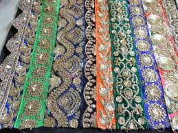 indian fabric embroidered fabric lace work fabrics indian