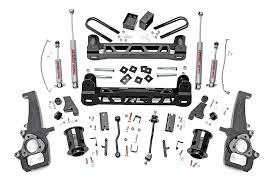 dodge ram 1500 6 inch lift kit rou 32120 country 06 08 ram 1500 2wd 6in suspension lift kit