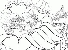 thumbelina pictures kids coloring