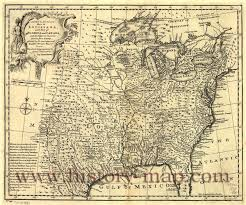 Maps Of Louisiana United States In 1700 U0027s