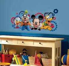 disney home decor ideas murals mickey mouse clubhouse bedroom