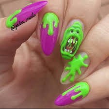 23 frightfully awesome halloween nail art ideas preppy chic