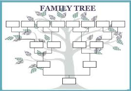 Free Family Tree Template Excel Free Family Tree Template Word Excel Calendar Template Letter