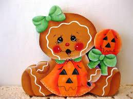 hand painted pumpkin halloween clipart 1640 best gingerbread images on pinterest gingerbread man