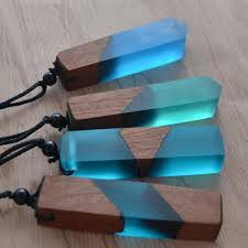 resin wood necklace images Coloured resin wood necklace 8 styles available reclaiming zen png