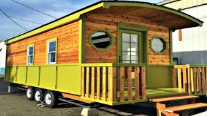 tiny house on wheels french door country porch small home design