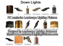 incandescent luminaire outdoor lighting fx luminaire down lights featured in landscape lighting design