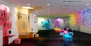 creative home interiors attractive atmosphere by creating creative office interior