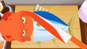sushi master fun kitchen and making sushi kids cartoon game