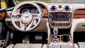 2017 bentley bentayga interior bentley review top car reviews