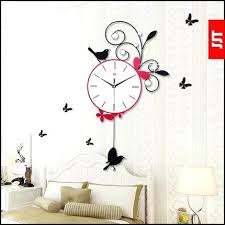 living room wall clock wall clock in bedroom high grade living room bedroom wall clock