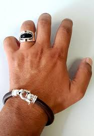 bracelet designs men images Mens leather bracelet leather bracelet for men men 39 s jpg