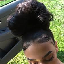 pics of black pretty big hair buns with added hair 54 best bomb a buns images on pinterest braids hair and black