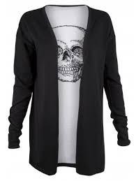 skull sweater sweaters cardigans apparel