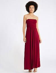 evening maxi dresses maxi dresses sleeve evening maxi dress m s