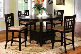 Kitchen Bar Table With Storage Tall Kitchen Table And Chairs U2013 Thelt Co