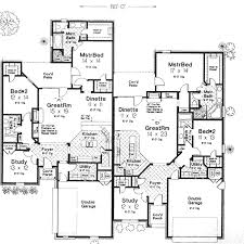 six bedroom house plans country style house plans 3708 square home 1