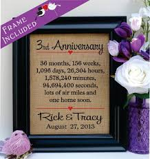 3rd wedding anniversary gifts for him 3rd anniversary gift for gift for husband anniversary