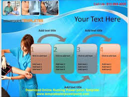 nursing powerpoint template presentation slide template free