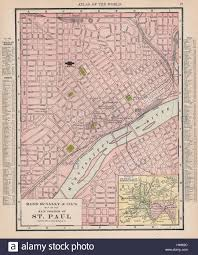 Minneapolis Map Usa by Rand Mcnally Signature United States Wall Map Poster 32x50 Rand